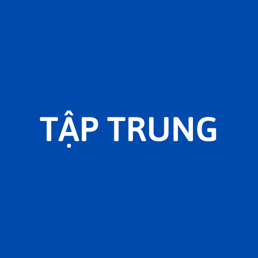 TẬP TRUNG