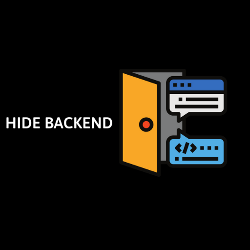 hide backend